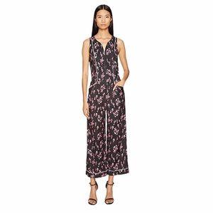 Sonia Rykiel Roses Print Jumpsuit 34 wide leg